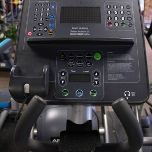 Life Fitness Crosstrainer screen